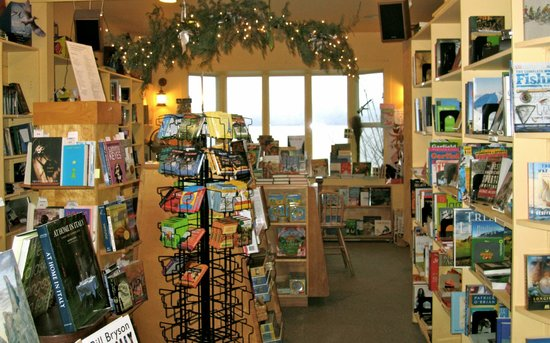 Eastsound, WA: Inside Darvill's during the holidays