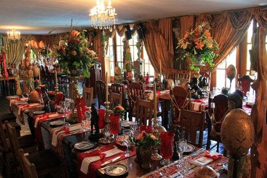 Bellgables Country Restaurant Table Layouts