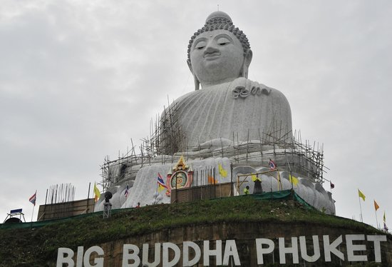 Patung Besar Budha Phuket: BIg Buddha Phuket, still under construction