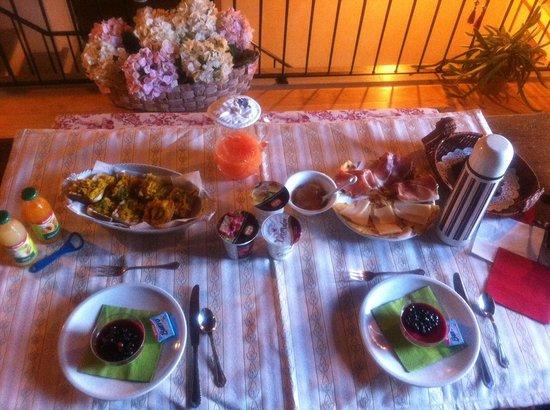B&B Ca' la Cornacchia: La colazione