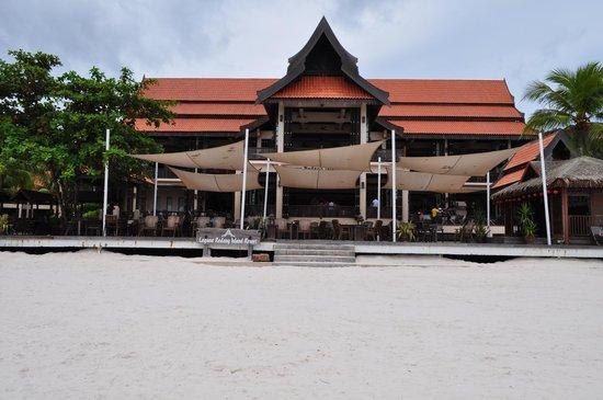 Laguna Redang Island Resort: Resort front view