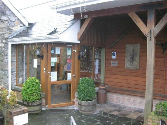 The Forge Restaurant: front entrance