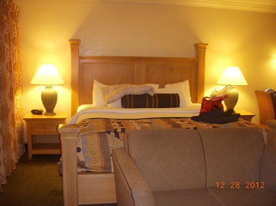 Best Western Plus Lincoln Sands Oceanfront Suites: Comfy bed