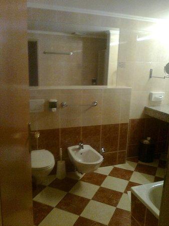 Der Wilhelmshof: the bathroom 