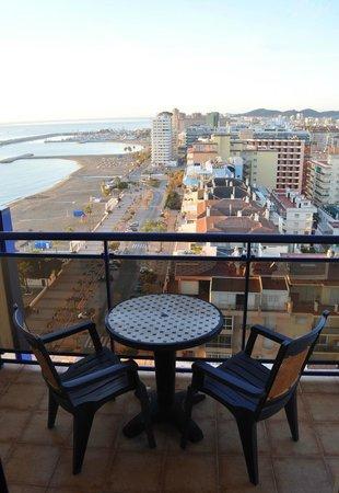 Yaramar Hotel: La terrasse (14e étage)