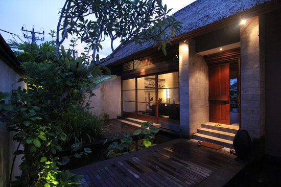 Luwak Ubud Villas: Main entrance to a 3 bedroom Villa