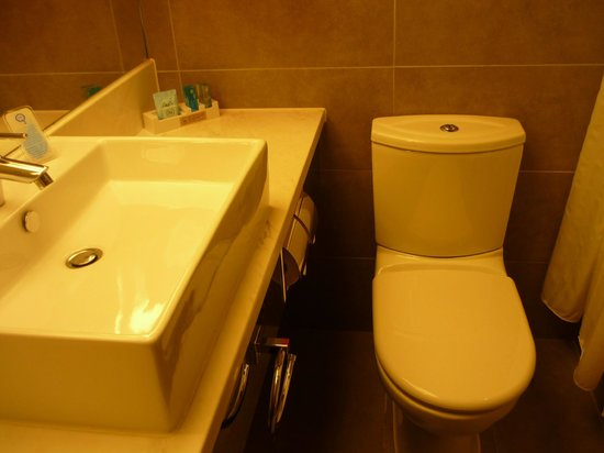 Novotel Hong Kong Nathan Road Kowloon: Basin and Toilet