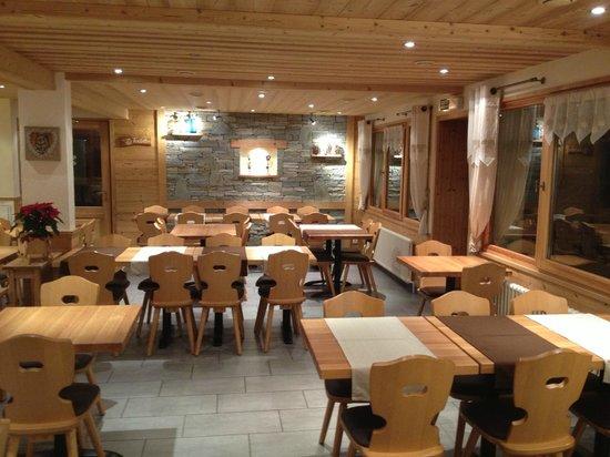 Hotel Les Prodains : Resto