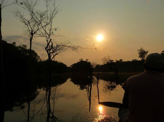 Tariri Amazon Lodge: Sunrise in the Amazon