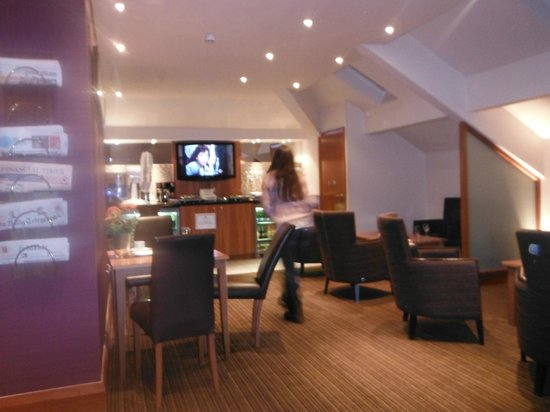 Crowne Plaza Chester: Executive Club lounge