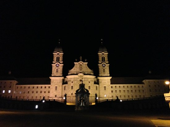 Holiday Inn Schindellegi - Zurichsee: The Einsiedeln Kloster from outside (not very far from hotel, by car)