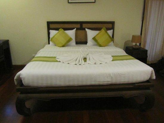 Grand Manita Beach Resort: Bett