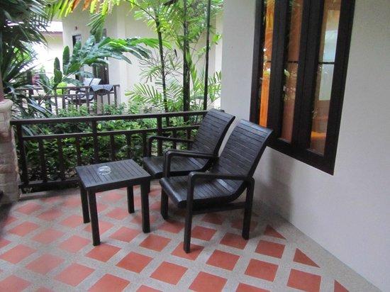 Grand Manita Beach Resort : Balkon