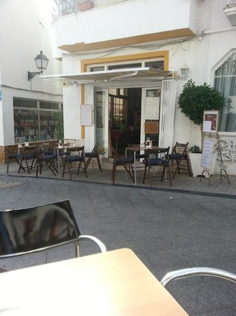 La Villa Marbella: Tapas at the end of the street
