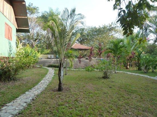 Hotel Casacolores: Garten mit Pool