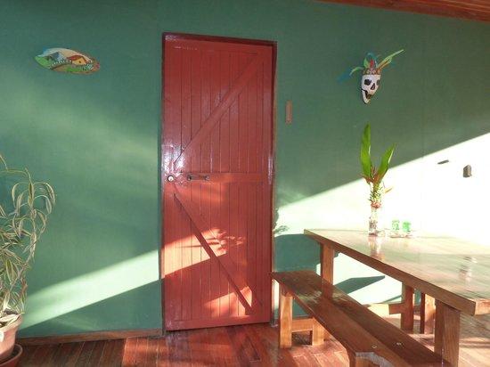 Hotel Casacolores: Grünes Häuschen