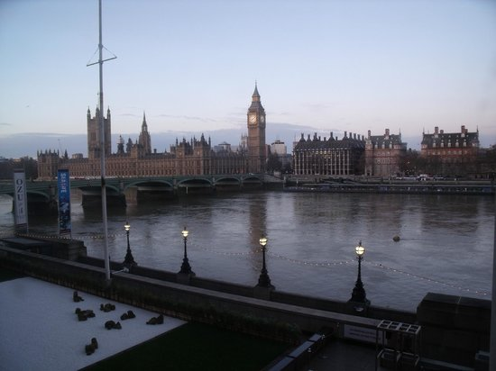 London Marriott Hotel County Hall: Room with a View !