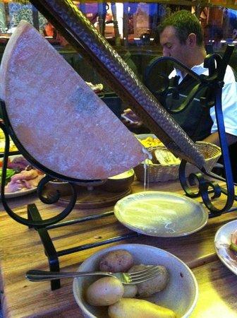 Le Rouet : Raclette !!