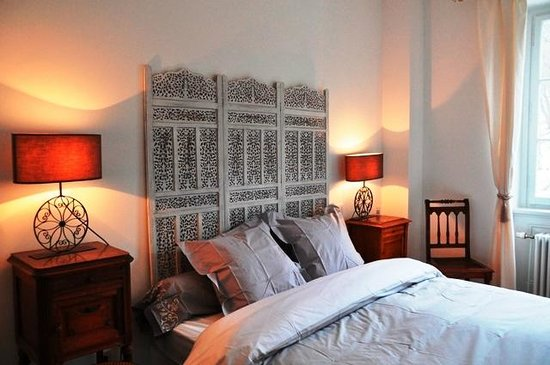 Gîtes de la Maison des Fontaines: Chambre à coucher