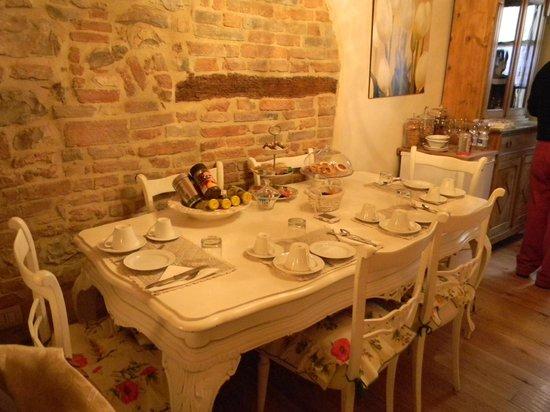 L' Antica Gabella: la sala per la colazione