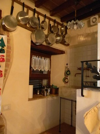 L' Antica Gabella: la cucina