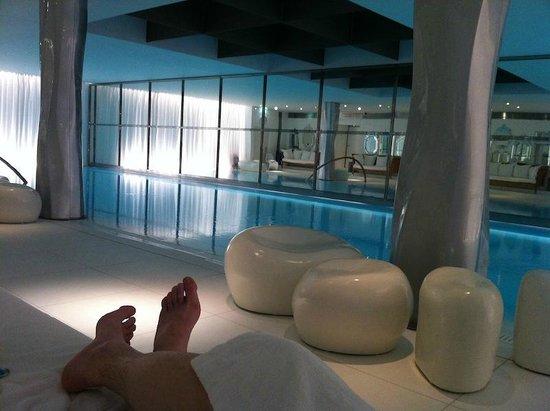 depuis un canap photo de spa my blend by clarins le royal monceau paris tripadvisor. Black Bedroom Furniture Sets. Home Design Ideas