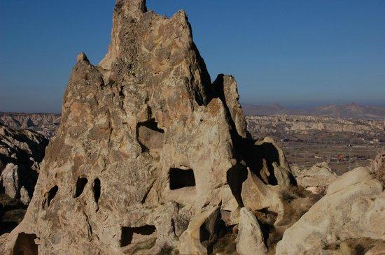 Case scavate nella roccia - Picture of Goreme National ...
