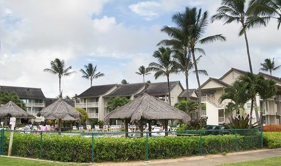 Aston Islander on the Beach: The resort from the beach