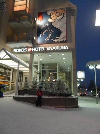 Original Sokos Hotel Vaakuna,Rovaniemi: fronte hotel ingresso reception