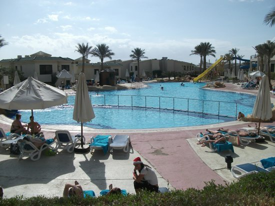 Pool two heated and water slide picture of island view resort sharm el sheikh tripadvisor Kettering swimming pool timetable