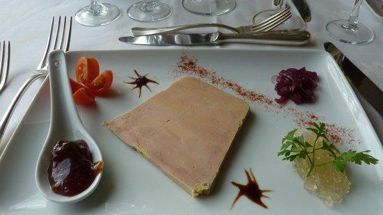 Le Chateau de Cocove: foie gras maison insipide