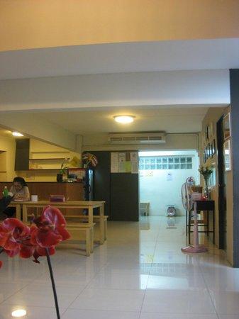 Link Corner Hostel Bangkok: Eingangsbereich