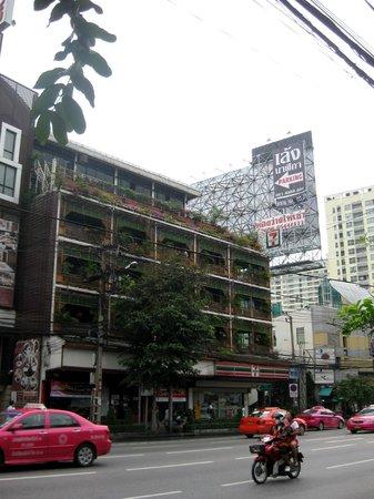 Link Corner Hostel Bangkok: Blick aus dem Hostel