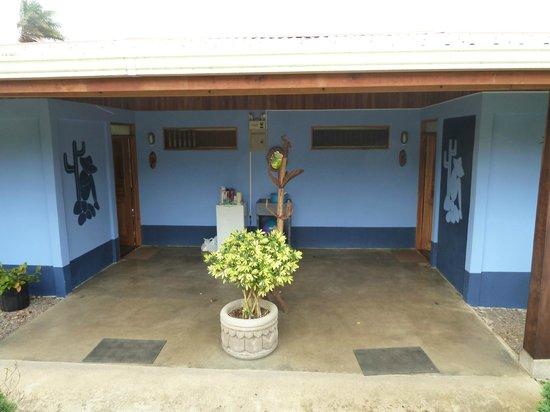 B&B Hotel Sueño Celeste: Zimmer - rechter Eingang