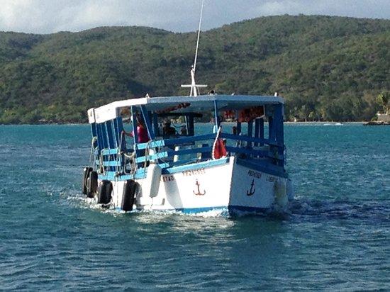 Playa de Guanica, Puerto Rico: Island Ferry