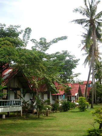 Green Garden Resort: Innenhof