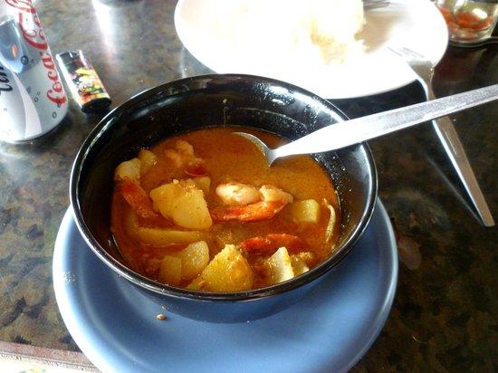 Green Garden Resort : Massaman Curry Seafood