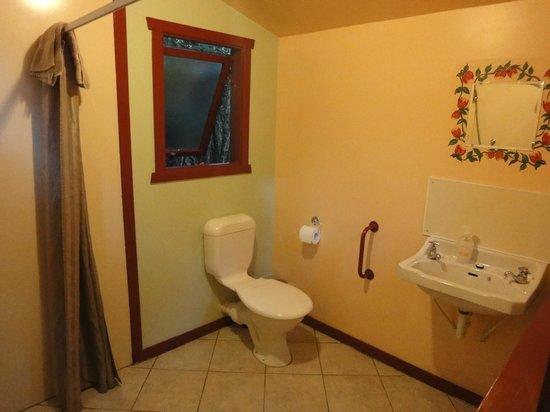 Te Nikau Retreat: Tui bathroom