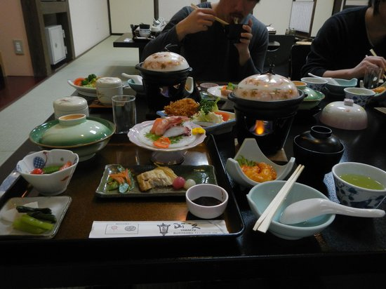 Oyado Yamakyu: Big Meal