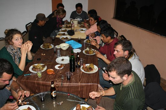Akilpo Hostal: dining room
