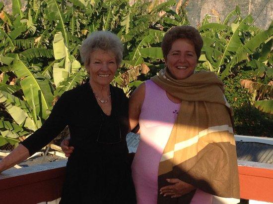 Villa Jorge y Ana Luisa: Analuisa und ihr gast