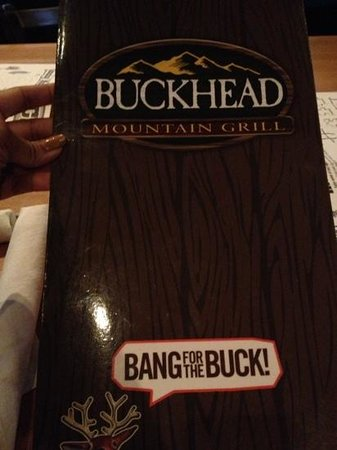 Buckhead Mountain Grill: so good!