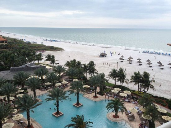 Marco Island Marriott Beach Resort, Golf Club & Spa: View from the Room