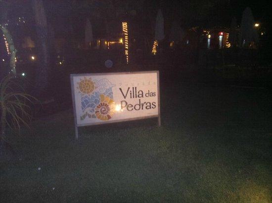 Villa das Pedras Pousada: frente da pousada