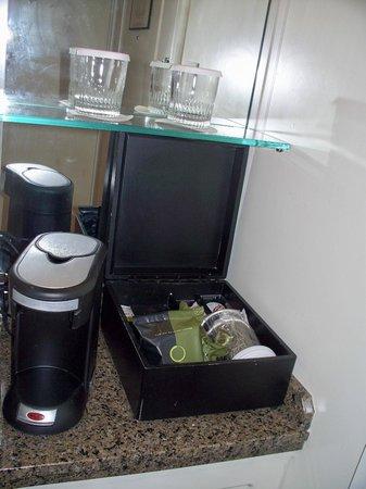 JW Marriott Washington, DC: Coffe and/or tea and cream