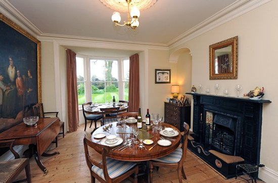 Cefn-y-Dre Country House Bed & Breakfast: Dining Room