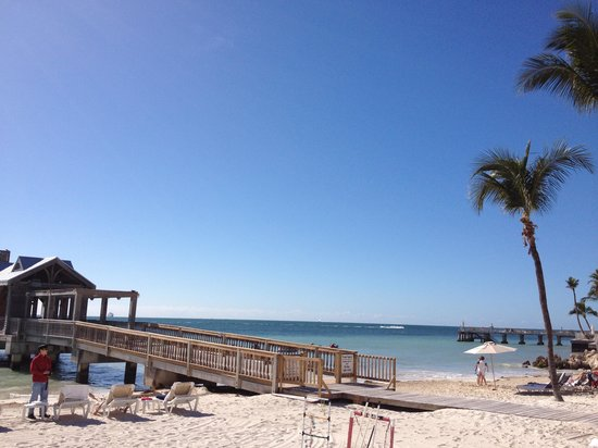 The Reach Key West, A Waldorf Astoria Resort: The beach