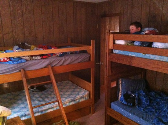 3rd bedroom with bunk beds