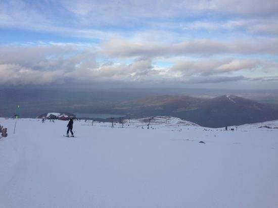 CairnGorm Mountain: View from Ptarmigan.
