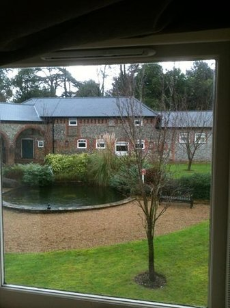 De Vere Horsley Estate: View from our room in Horsley Court